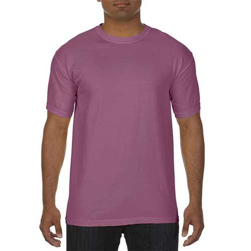 Case of [12] Comfort Colors First Quality - Garment Dyed Short Sleeve T-Shirts - Berry - XL