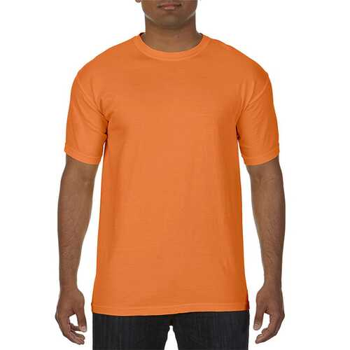Case of [12] Comfort Colors First Quality - Garment Dyed Short Sleeve T-Shirts - Burnt Orange - Large