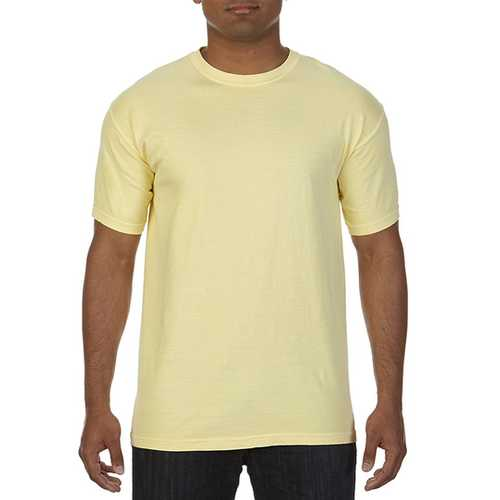 Case of [12] Comfort Colors First Quality - Garment Dyed Short Sleeve T-Shirts - Butter - XL