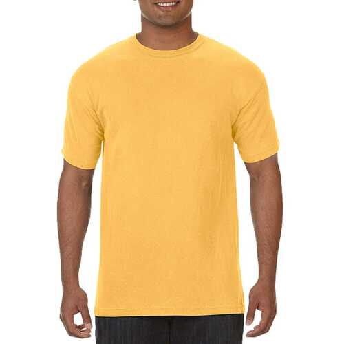 Case of [12] Comfort Colors First Quality - Garment Dyed Short Sleeve T-Shirts - Citrus - Medium