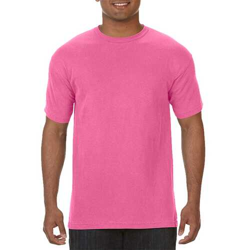 Case of [12] Comfort Colors First Quality - Garment Dyed Short Sleeve T-Shirts - Crunchberry - Large