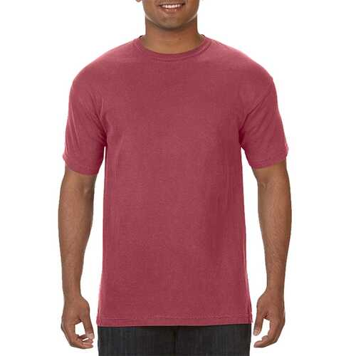 Case of [12] Comfort Colors First Quality - Garment Dyed Short Sleeve T-Shirts - Cumin - Large