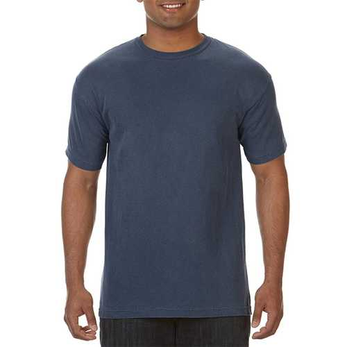 Case of [12] Comfort Colors First Quality - Garment Dyed Short Sleeve T-Shirts - Denim - Medium