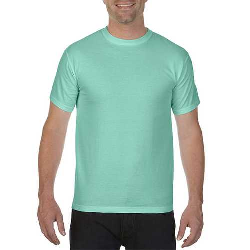 Case of [12] Comfort Colors First Quality - Garment Dyed Short Sleeve T-Shirts - Iceland Reef - Medium
