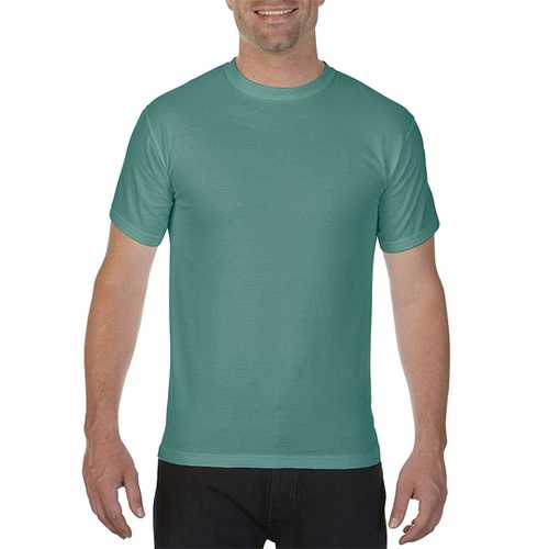 Case of [12] Comfort Colors First Quality - Garment Dyed Short Sleeve T-Shirts - Light Green - Medium