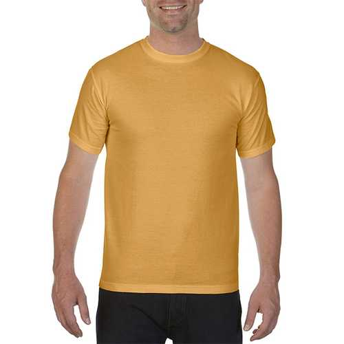 Case of [12] Comfort Colors First Quality - Garment Dyed Short Sleeve T-Shirts - Monarch - Small