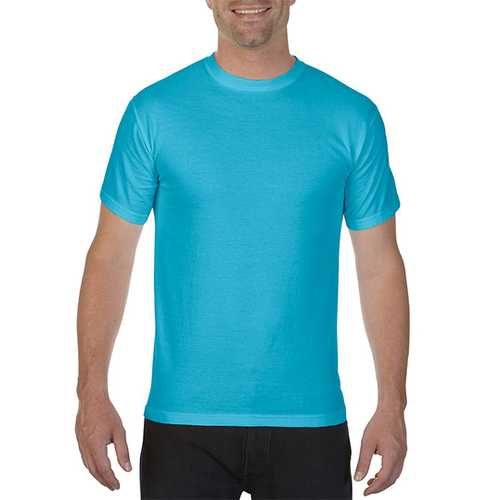 Case of [12] Comfort Colors First Quality - Garment Dyed Short Sleeve T-Shirts - Sapphire - Large