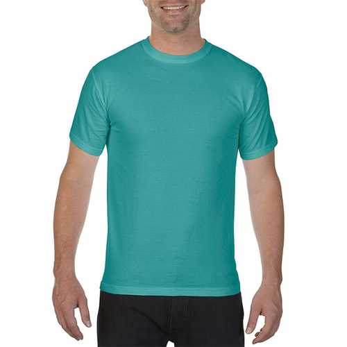 Case of [12] Comfort Colors First Quality - Garment Dyed Short Sleeve T-Shirts - Seafoam - Large