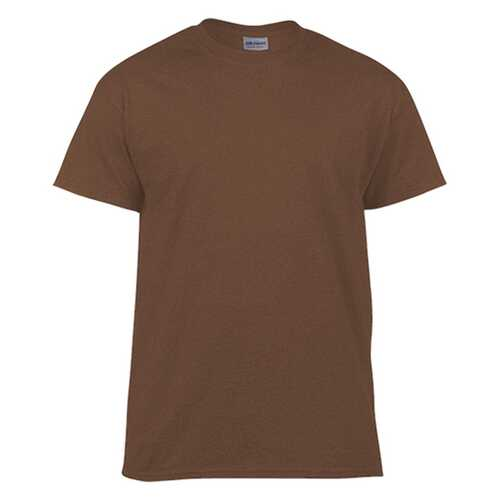 Case of [12] Gildan First Quality - Adult T-Shirt Tearaway Label - Dark Chocolate - Small