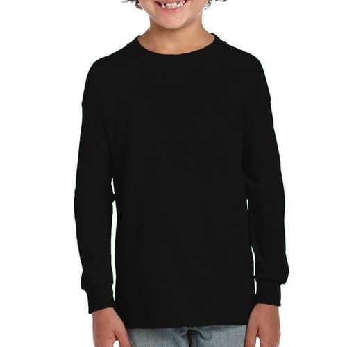 Case of [12] Alstyle Irregular - Alstyle Irregular Youth Long Sleeves Tees - Black - Medium