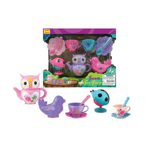 Case of [24] Forest Tea Party Set - Assorted Colors