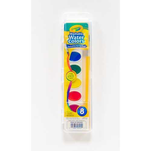 Case of [12] Crayola Washable Watercolor