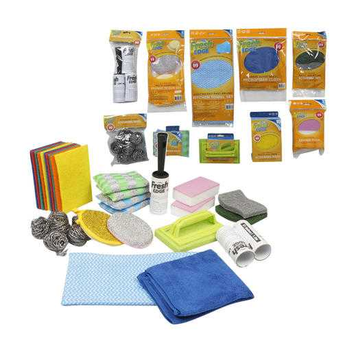 Case of [120] Assorted Sponges & Scrubbers