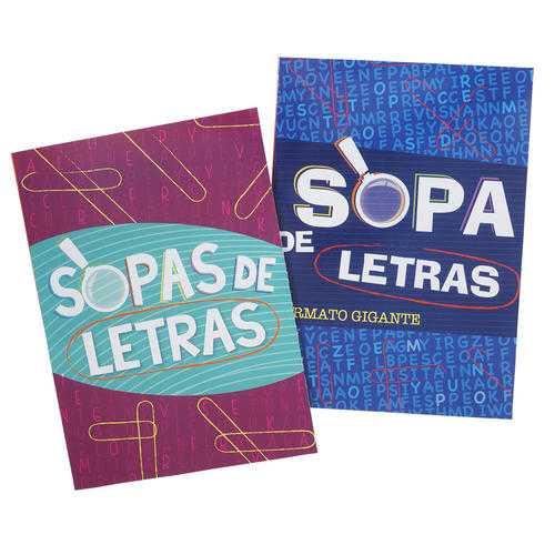 Case of [48] 80 Page Sopas De Letras Spanish Crossword Book # 6