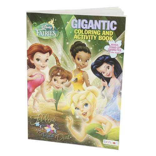 Case of [24] Disney Fairies Gigantic Coloring & Activity Book