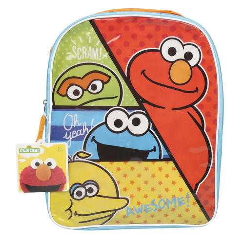 "Case of [12] 15"" Sesame Street Backpack"