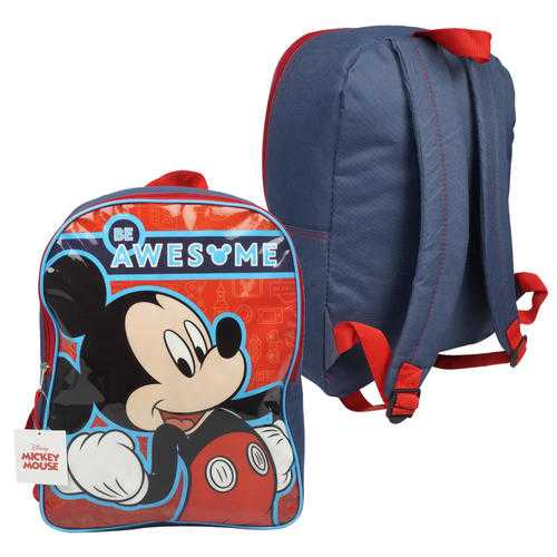 "Case of [12] 15"" Mickey Mouse Backpack"