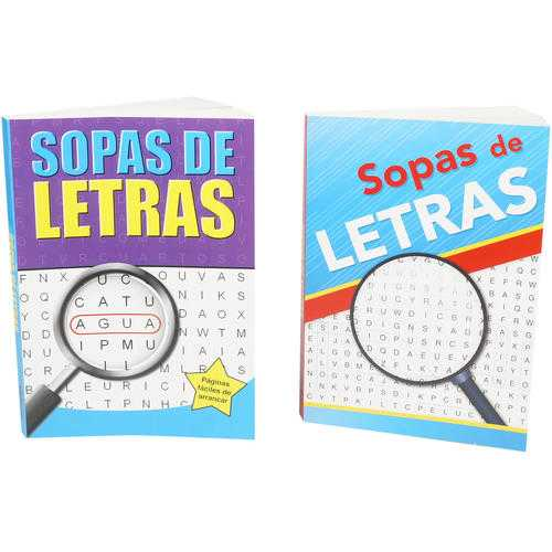 Case of [24] Sopas De Letras Puzzle Book - Assorted