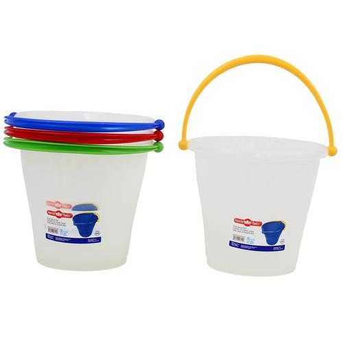 Case of [12] Imperial Plastics Dual Spout Pail - Assorted