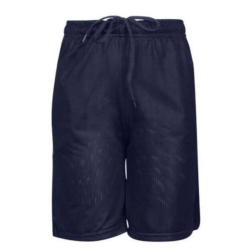 Case of [12] Adult Gym Mesh Shorts - Navy - XL