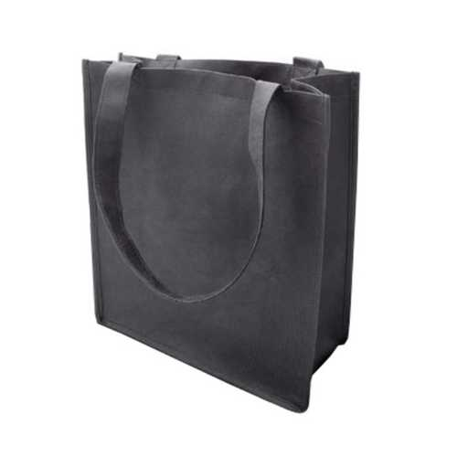 Case of [120] 100G Non-Woven Recycled Shopping Tote - Black