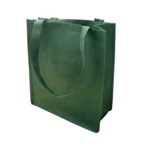 Case of [120] 100G Non-Woven Recycled Shopping Tote - Dark Green