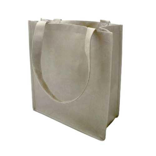 Case of [120] 100G Non-Woven Recycled Shopping Tote - Khaki