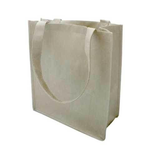 Case of [120] 100G Non-Woven Recycled Shopping Tote - Natural