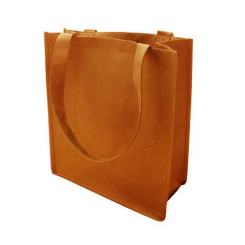 Case of [120] 100G Non-Woven Recycled Shopping Tote - Orange