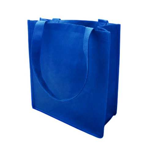 Case of [120] 100G Non-Woven Recycled Shopping Tote - Royal