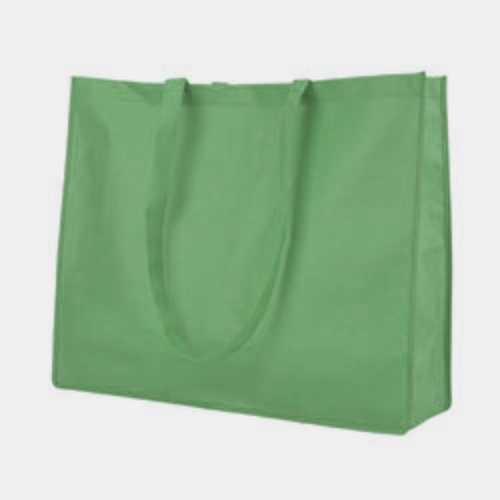 Case of [120] Extra Large Tote Bag - Dark Green