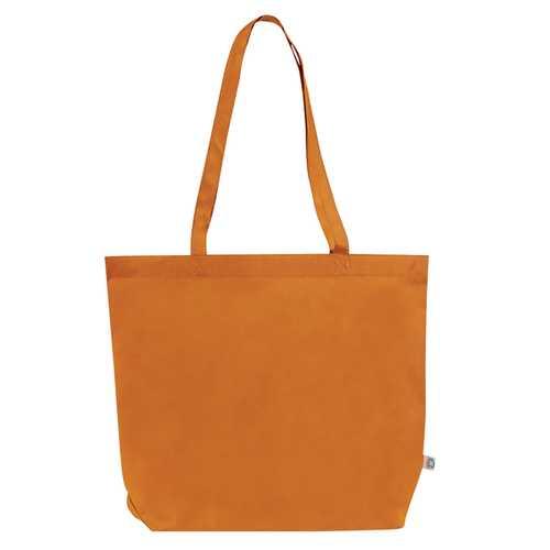 Case of [100] Jumbo Shopping Tote Bag - Orange