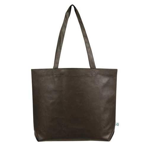 Case of [100] Jumbo Shopping Tote Bag - Brown