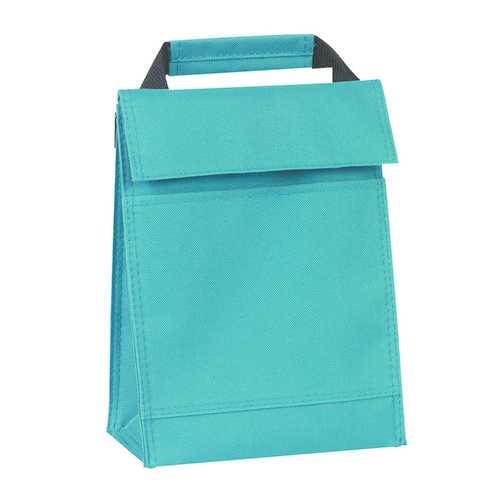 Case of [50] Back To Basics 600 Denier Lunch Bag - Teal