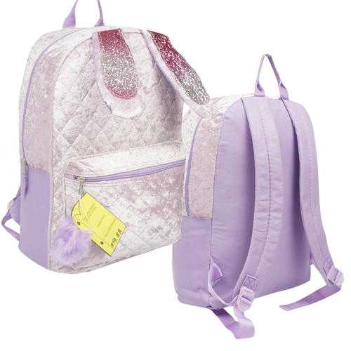 "Case of [20] 16"" Large Purple Bunny Backpack"