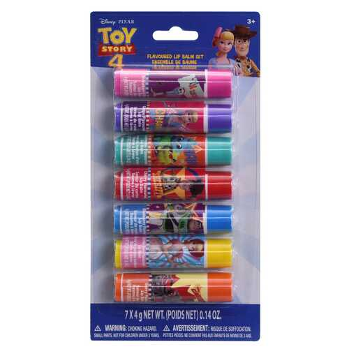 Case of [72] Disney Pixar Toy Story Lip Balm - 7 Pack