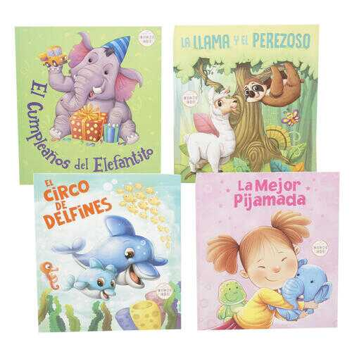 Case of [24] Spanish Language Childrens' Story Books - Assorted