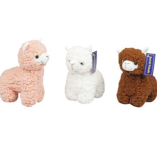 "Case of [60] 9"" Alpaca Plush Toy - Assorted Colors"