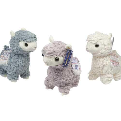 "Case of [36] 9.8"" Alpaca Plush Toy- Assorted Colors"