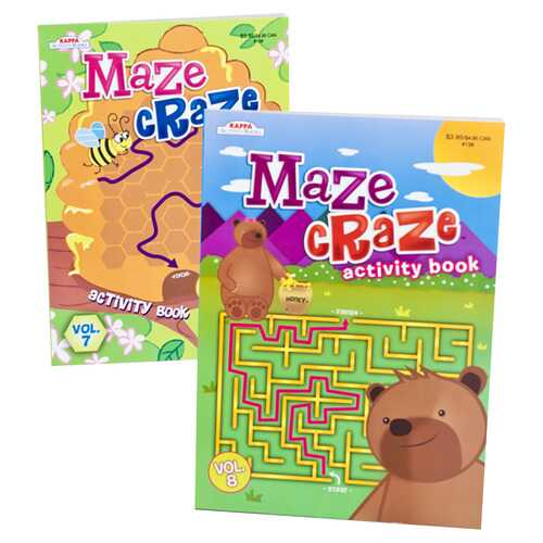Case of [48] Maze Craze Activity Books - Assorted Volumes