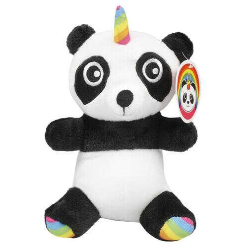 """Case of [60] 7.9"""" Pandacorn with Rainbow Plush Toy"""