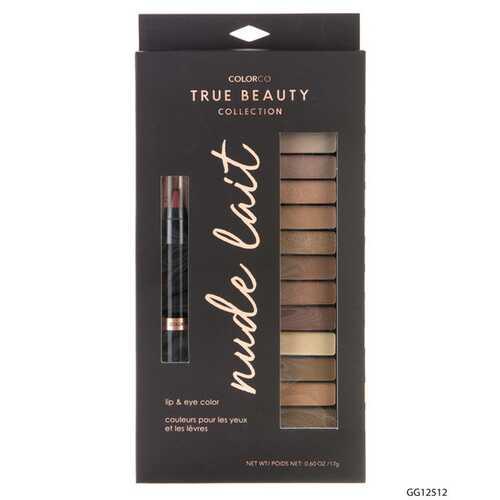 Case of [48] ColorCo Nude Lait Lip & Eye Palette - 12 Color