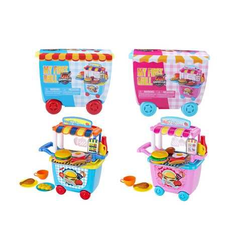 Case of [18] My First Grill BBQ Playset - Assorted Color