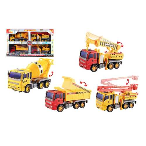 Case of [12] Mighty Machine Builders Friction Power Construction Play Set