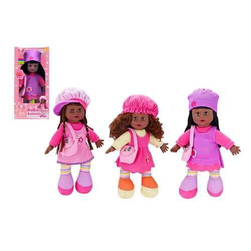 Case of [18] Coco Cuddles Baby Doll with Battery Operated Sound - Assorted