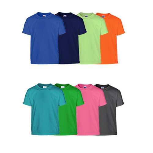 Case of [72] Gildan Irregular Youth T-Shirts - XS