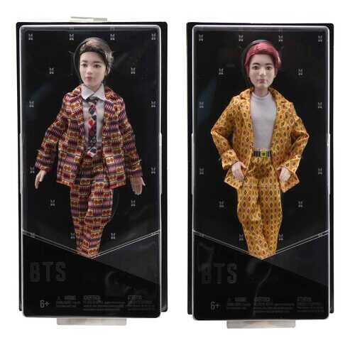 Case of [12] Mattel BTS Group Dolls