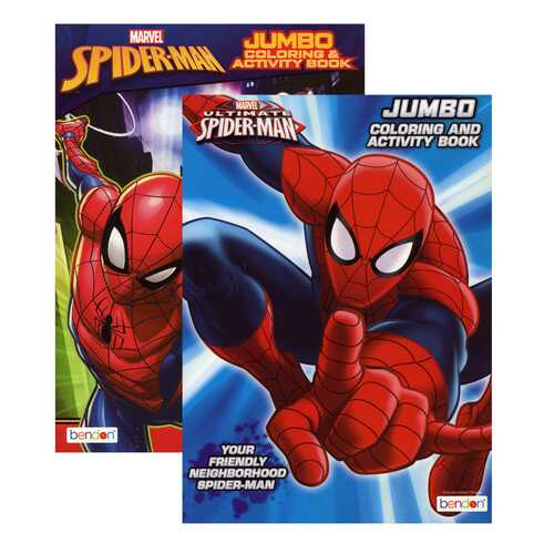 Case of [36] SPIDERMAN Coloring Book