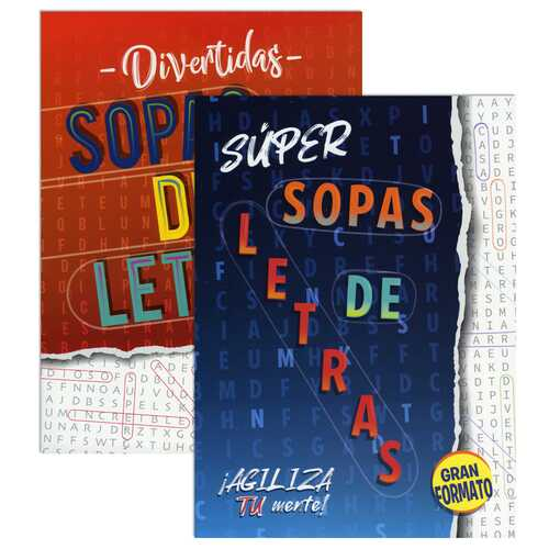 Case of [48] Large Print Spanish Language Word Search Puzzle Books - Assorted