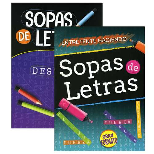 Case of [48] Spanish Language Word Search Puzzle Books - Assorted